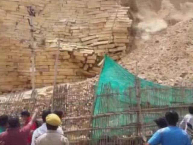 Wall of 850-Year-Old Jaisalmer Fort Collapses