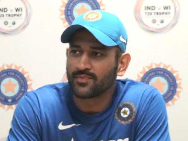Video : Cricket Making Foray Into USA Good For Cricket: MS Dhoni