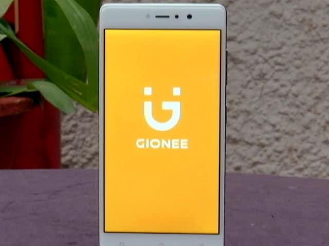 Gionee's Selfie Flash Phone