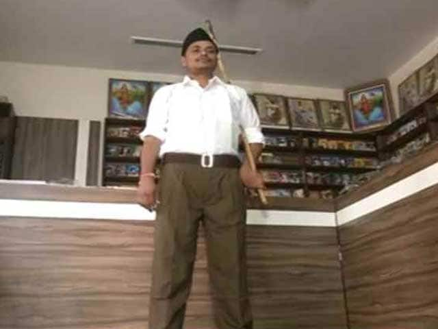 Video : 10,000 Khaki Pants Arrive At RSS Office, Shorts To Retire In October