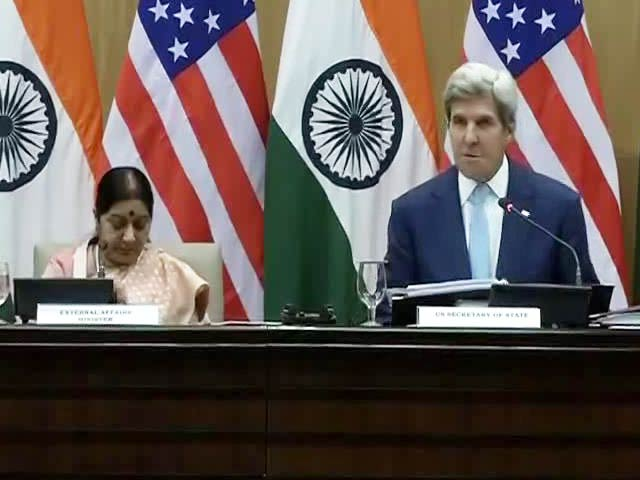 Video : From Delhi, A Strong Message From John Kerry To Pakistan On Terror