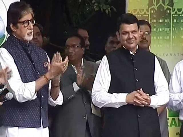 Video : '50 Swachh Cities By October 2,' Promises Maharashtra Chief Minister Fadnavis