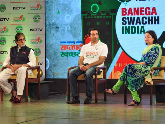 Video : If You See People Littering, Stop Them, They'll Change: Amitabh Bachchan