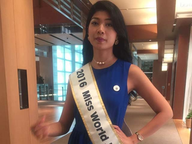 Video : 'Am Not Indian, But Thanks For The Love': Priyanka, Miss World Japan