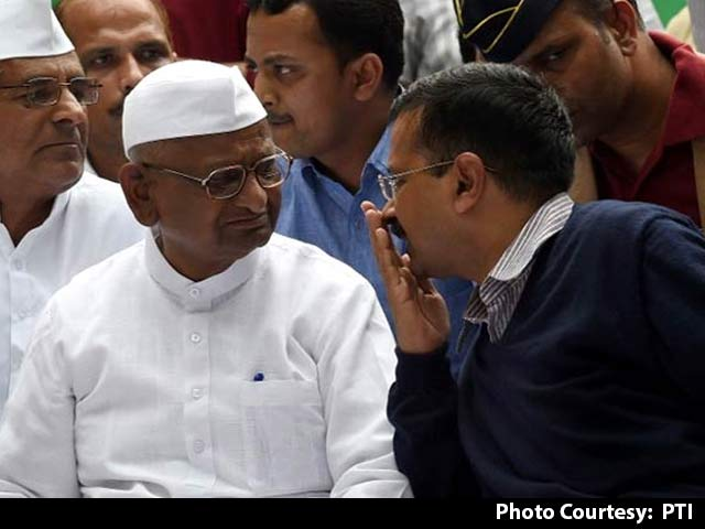 Video : Hopes From Kejriwal Over, Says Anna Hazare In Jab At AAP Controversies