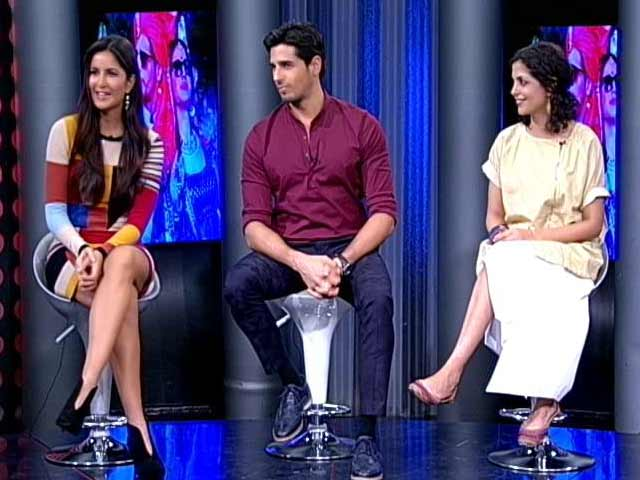 Video : This Is How Katrina, Sidharth Reacted When They First Heard <i>Baar Baar Dekho</i>