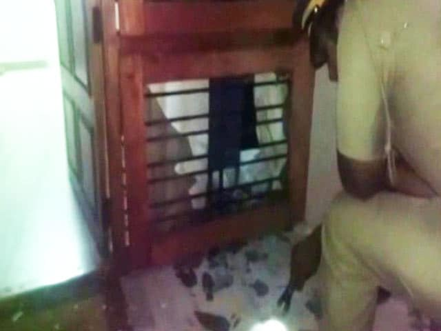 Video : Bomb Thrown At BJP Office In Thiruvananthapuram, Left Denies Role