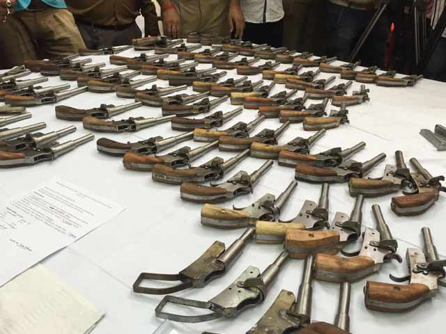 Video : House Of Arms Just Outside Kolkata, 101 Guns, 9 Kg Explosives