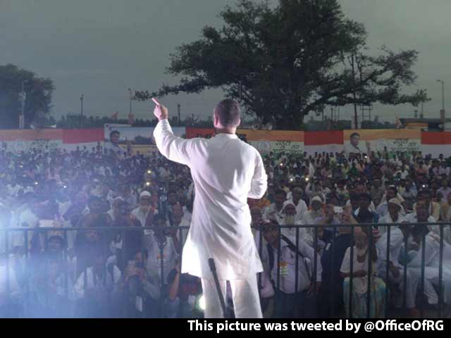 Video : Taking Cots Is Stealing? What About Vijay Mallya, Asks Rahul Gandhi
