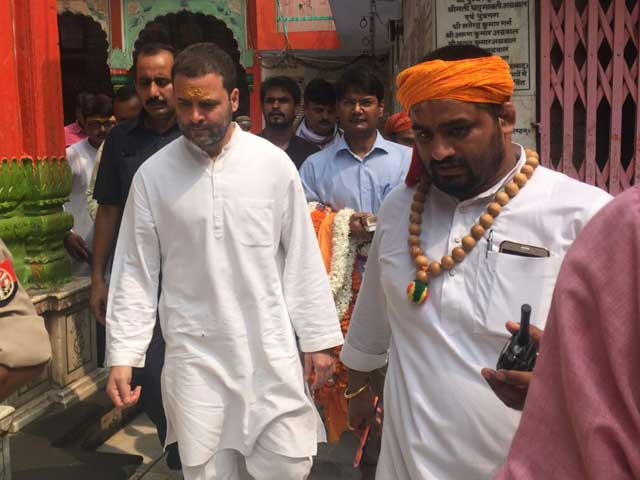 Video : Rahul's 20 Minutes In Ayodhya, First Gandhi Visit In 26 Years