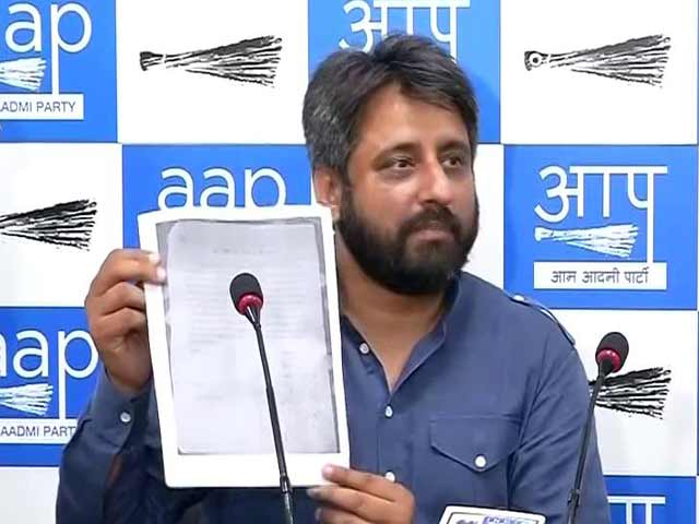 Video : Sexual Harassment Case Against AAP Legislator Amanatulllah Khan