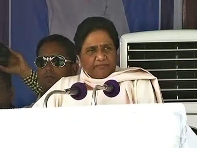 Video : बीजेपी के चुनावी वादे झूठे साबित हुए : मायावती