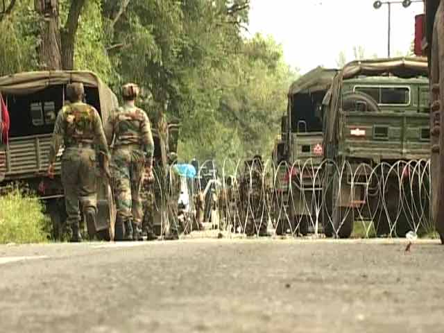 Video : Day After Encounter, Firing Again In Jammu And Kashmir's Poonch