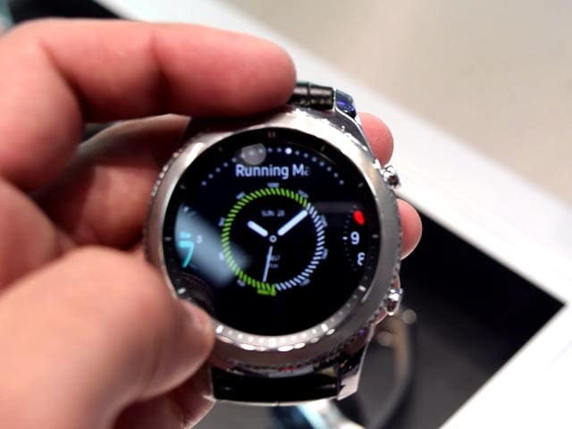Video : Samsung Gear S3 Classic, Gear S3 Frontier: Hands-On