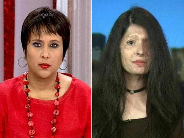 Video : We Did No Wrong, Why Stop Living: Acid Attack Survivor Who Walked NYC Ramp