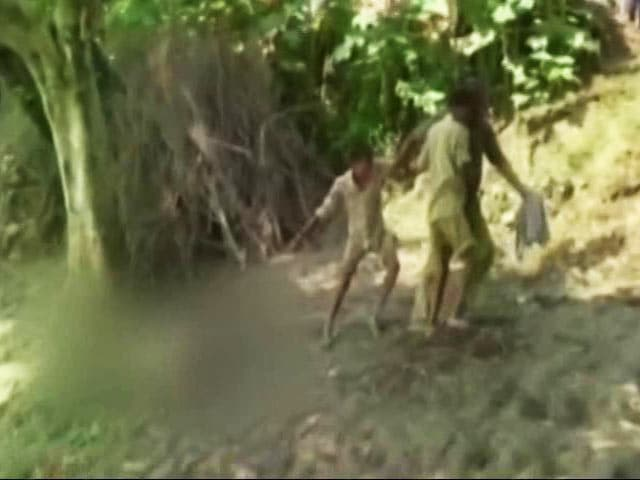 Video : Bihar Police Drags Body Hundreds Of Metres With Rope Around Neck