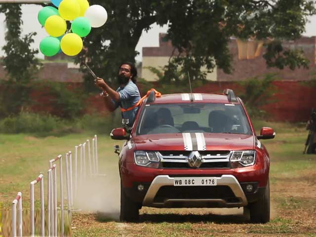 Video : India Adventures in Patiala: Hitting The Target With The Renault Duster