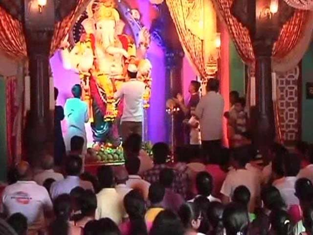 Video : 11-Day Ganesh Festival Ends With Visarjan