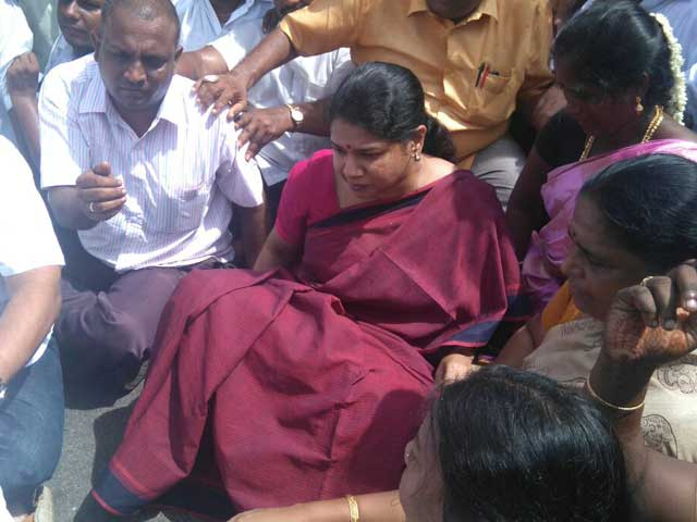 Video : DMK's Stalin, Kanimozhi Court Arrest During Cauvery Protests In Tamil Nadu