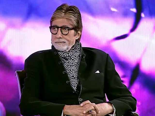 Video : Didn't Need Glycerine While Making Pink: Amitabh Bachchan