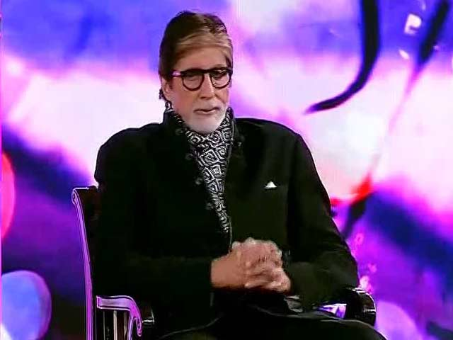Video : Amitabh Bachchan Narrates A Heartwarming Poem At Youth For Change Conclave