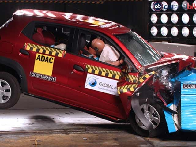 Video : Exclusive: Made-In-India Cars Crash Tested Again, Kwid, Mobilio Perform Poorly