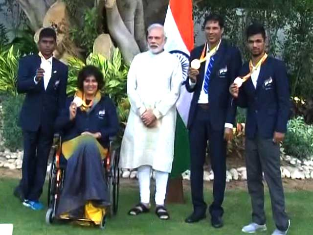 Video : Paralympics Stars Happy After Meeting Prime Minister Narendra Modi