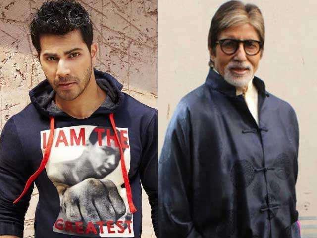 Varun Dhawan, Amitabh Bachchan to Co-Star in Comedy Film?