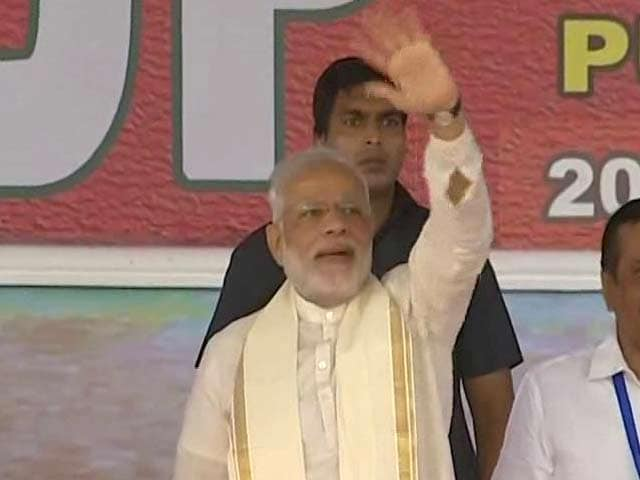 Video : God's Own Country' - Land Of Saints And Sages, Says PM Modi At BJP Meet In Kozhikode
