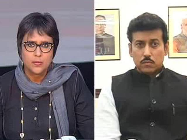 To Defend Ourselves, We Can Attack Too: Minister Rathore to NDTV