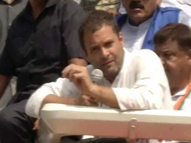 Video : Good Job PM Modi, And Thank You, Says Rahul Gandhi On Surgical Strikes