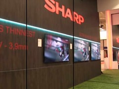 The Sharpest TV From Sharp at IFA