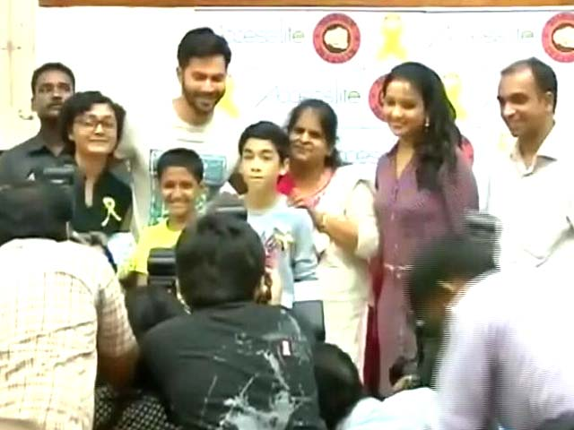 Varun Dhawan's Special Day Out With Cancer Patients