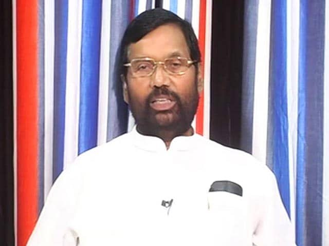 Video : Need To Focus On Reuse And Recycle Of Plastic: Ram Vilas Paswan