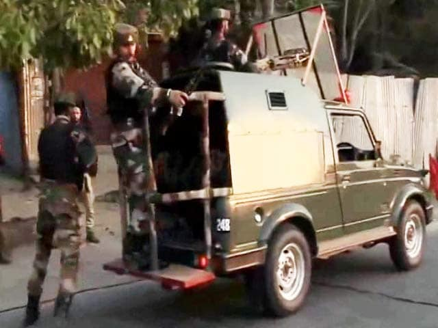 Video : Terror Attack On Army Camp In Kashmir's Baramulla, 1 Security Personnel Dead