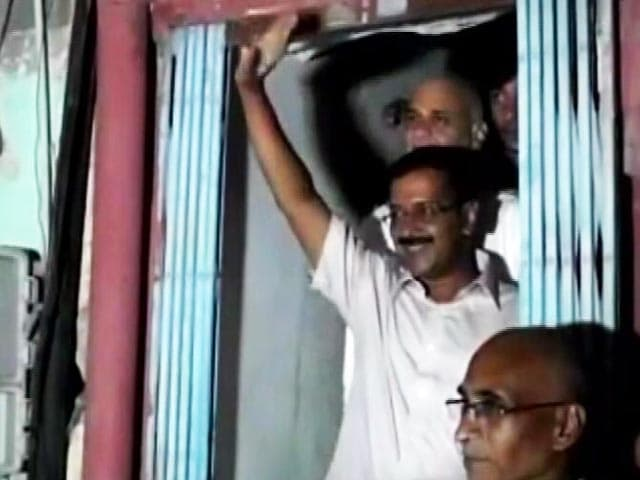 Video : God Bless Them, Says Arvind Kejriwal After Ink Attack in Rajasthan