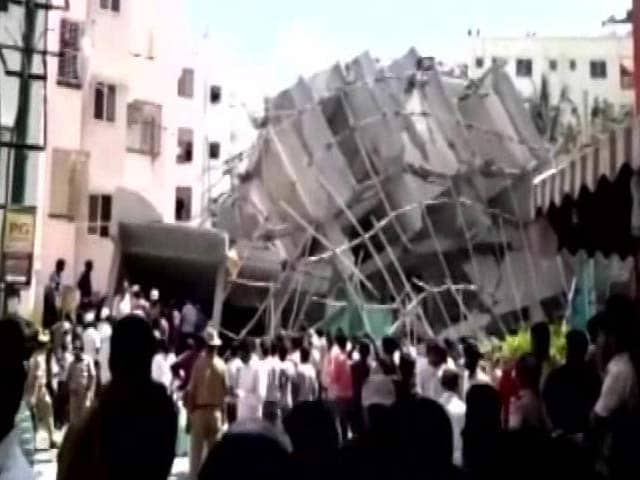 Video : 3 Dead As 7-Storey Building Collapses In Bengaluru