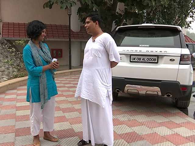 Video : Range Rover And iPhone: Only Visible Luxuries Of Patanjali CEO Balkrishna