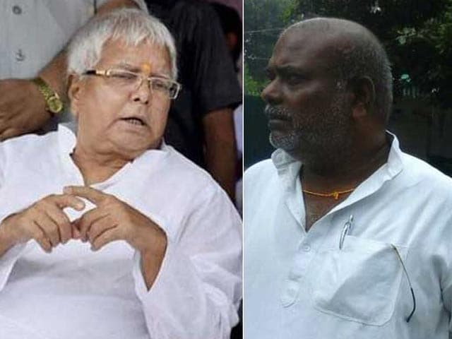 Video : Lalu Yadav Meets Bihar Lawmaker Accused Of Raping 15-Year-Old