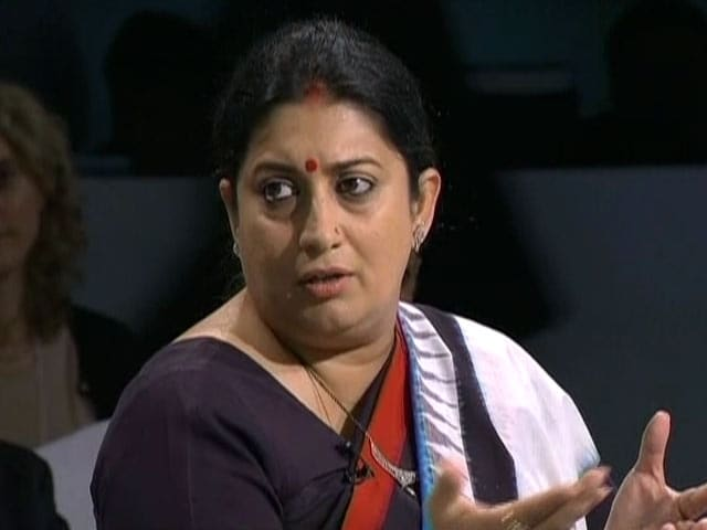 Video : Never Used Gender As A Crutch: Smriti Irani