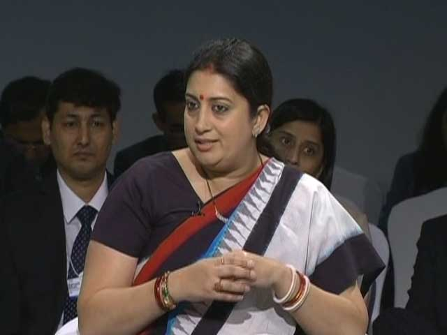 Video : Gender Equality Still Remains A Challenge: Smriti Irani