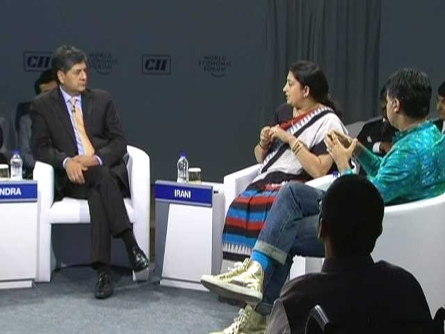 Video : Legislation Can't Change Hearts, Mindsets: Smriti Irani