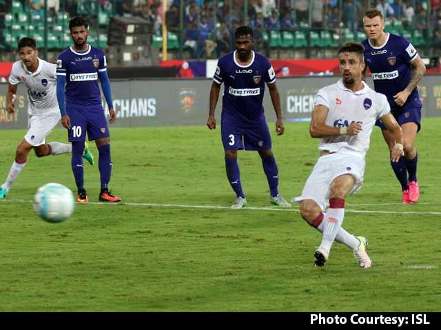 Video : ISL: Marcelinho stars in Delhi's 3-1 win over Chennaiyin FC