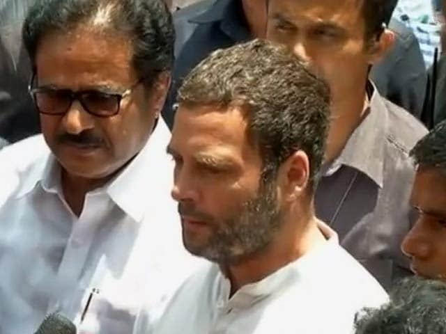 Video : Rahul Gandhi Visits Chennai Hospital, Says Jayalalithaa 'Recovering Well'