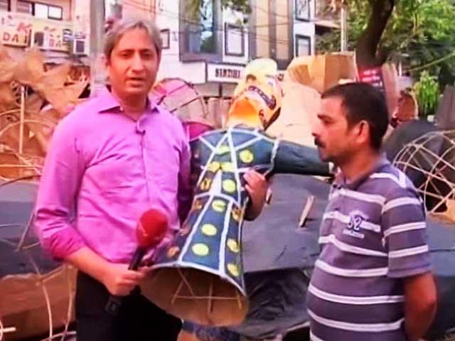 Video : प्राइम टाइम : कहानी दिल्ली के तातारपुर की, जहां बनते हैं रावण के पुतले