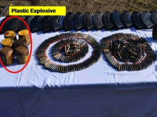 Video : Pak Markings On Grenades Seized From Terrorists In Naugam: Army