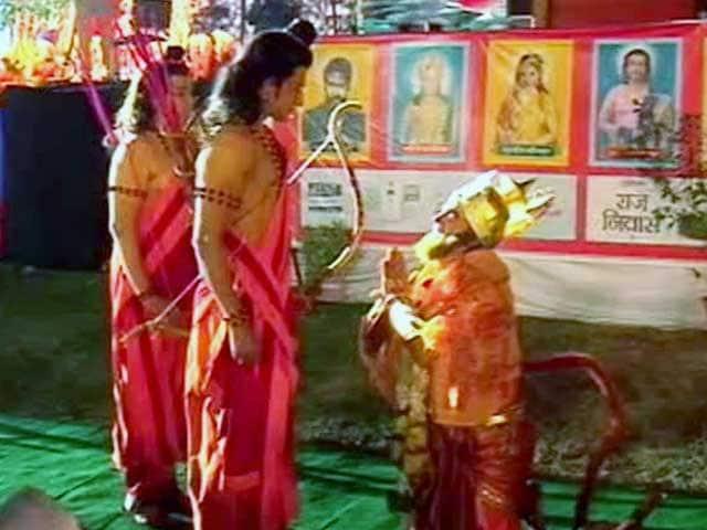 Video : Ram-Leela Stage Shows A Symbol Of Hindu-Muslim Unity, Say Actors
