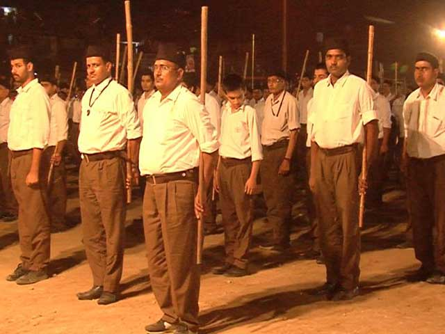 Video : In Big Dalit Outreach, RSS Focuses Dussehra Celebrations On 'Social Harmony'