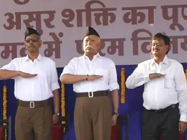 Video : RSS Says Goodbye To Iconic Khaki Shorts, Switches To Trousers