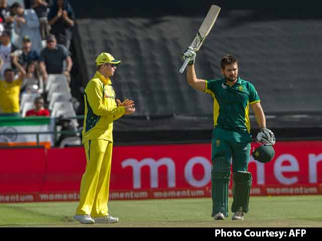 An Honour to Play for South Africa: Rilee Rossouw